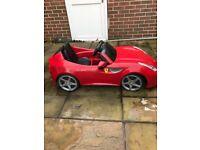 Ferrari ff kids battery car .