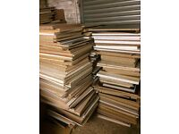 Chipboard laminate boards ideal for lofts,etc... New stock arrived 100's in stock