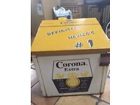 Rare Original Mexican Corona Beer Fridge