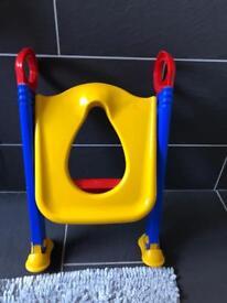 Baby toilet training