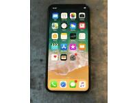 Iphone x 256gb unlocked to all networks grey