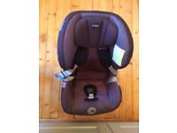 Britax Max-Way rear facing car seat - 9kg to 25kg - barely used