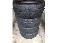 High Quality Winter Tyres - Pirelli SottoZero. Excellent grip. 255/35 R20 97V