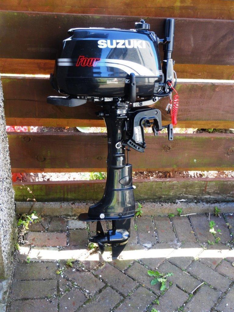 Outboard Suzuki 2 5hp 4 Stroke Buy Sale And Trade Ads