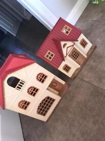 2 Sylvanian Families Houses!!
