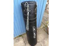 Reebok boxing bag