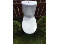 Dual flash toilet