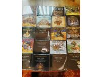 25 discworld audio cds
