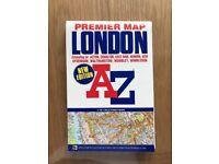 Brand New - Foldable London AZ Map