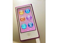 2 yr old 16GB 7th generation Apple iPod nano, purple
