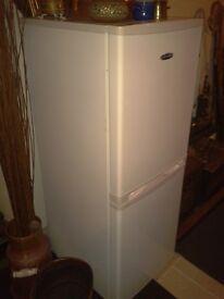 Ice king slimline 50cm combi fridge freezer, 18 months old