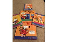 Maisy's books and Dvd's