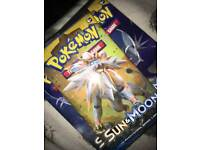 Pokemon sun and moon base set booster pack box
