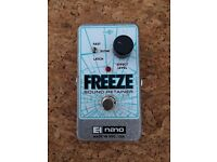 Electro-Harmonix EHX Freeze Sound Retainer Guitar Effects Pedal