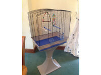 Bird Cage and Stand - hardly used - Ferndown, Dorset