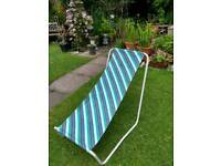Portable deck chairs