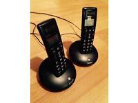 BT Graphite landline telephones