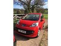2007 Peugeot 107 Urban 1.0 Petrol Red Low Mileage Just Serviced