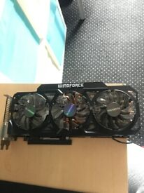 GTX 780 Ti WindForce 3X OC (overclocked)