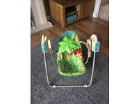 Fisher price electric swing