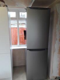 Hotpoint fridge freezer graphite grey frost free excellent condition 200cm 59cm 59cm