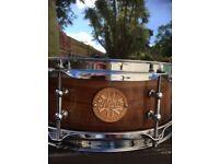 North custom snare drum 13 x 5
