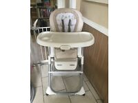 Graco Duo Diner Reclining Highchair and booster chair