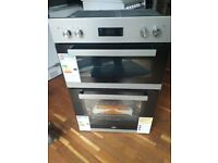BEKO Pro BXDF22300S Electric Double Oven - Silver - Currys RRP £359.00