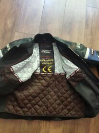 RST Tracktech evo 2 piece racing suit, used