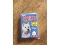 new halti leather padded headcollar size 1