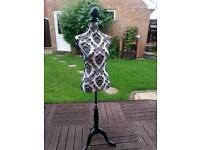 Dress making female mannequin