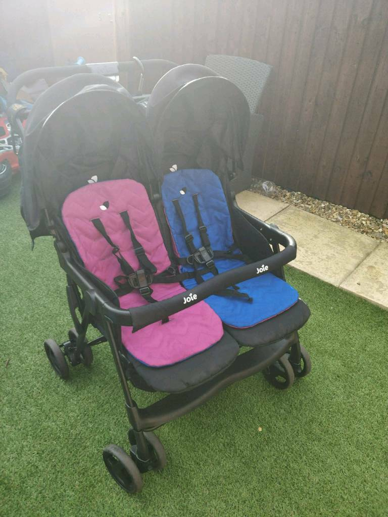 Joie double pushchair need quick sale.