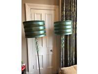 2 Next floor lamps