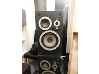 Wharfdale Laser 80 loud speakers