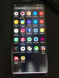 Samsung Galaxy S8 Midnight Black 64gb unlocked