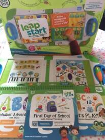 Leap start interactive learning system