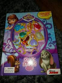 Disney Sofia the first book