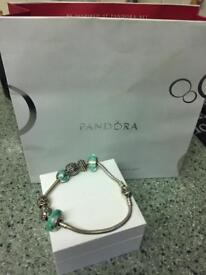Pandora bracelet with charms 20cm