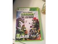 Xbox 360 garden warfare game