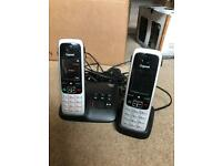 Gigaset wireless home phone with answer machine.