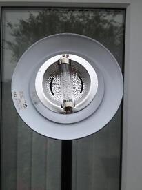 Halogen floor lamp-adjustable switch-adjustable head-black-high 180cm-very bright-offers-