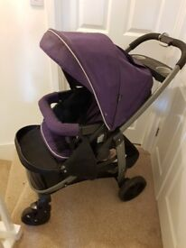 Graco 3 in 1 Sky Pushchair and car seat