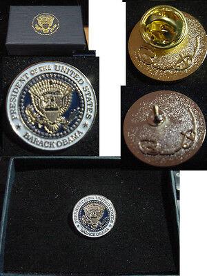 Presidential Barack Obama unusual Lapel Pin