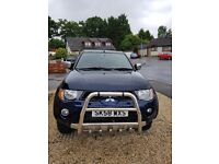 58 Mitsubishi L200 Animal - Double Cab, Std bed with Canopy