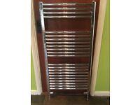 Heated Towel Radiator 1150 x 600 - Chrome finish - Used