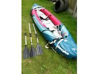 Kayak inflatable sevylor tahiti plus