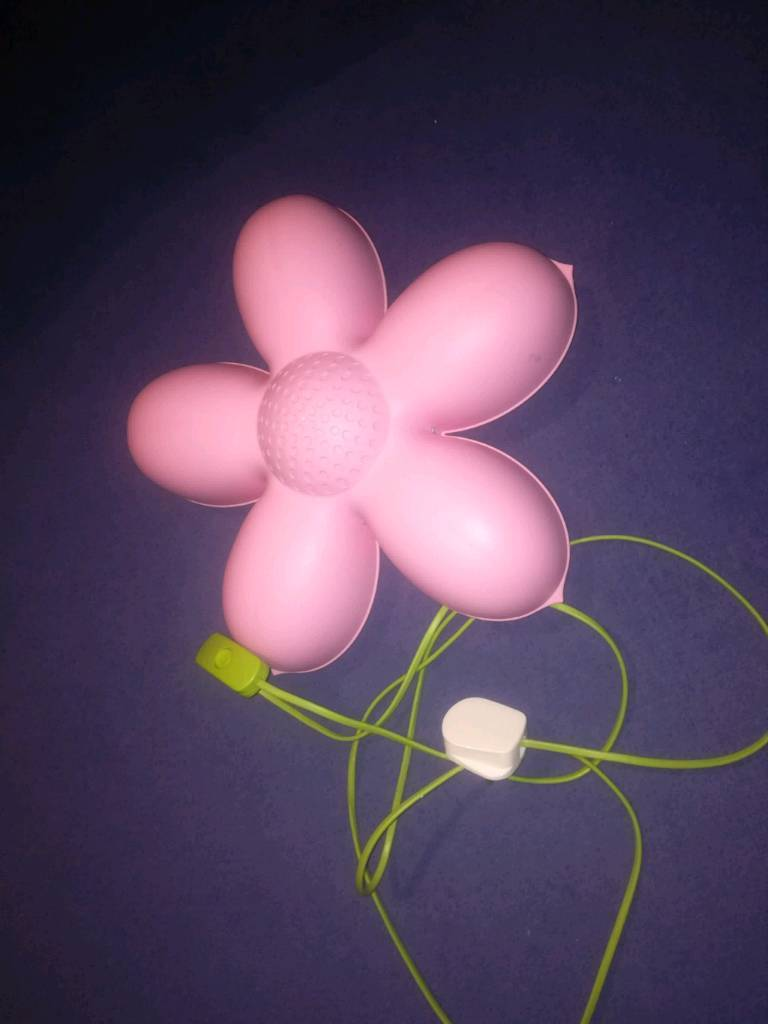 Ikea pink flower wall light in hartlepool county durham gumtree ikea pink flower wall light aloadofball Images