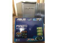 Desktop PC Computer Asus, intel 2x 3.48GHz, XFX HD5750, WD 580GB