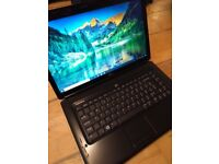 Dark Blue Dell Inspiron Laptop PC with Office