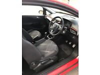 RED VAUXHALL CORSA LIMITED EDITION